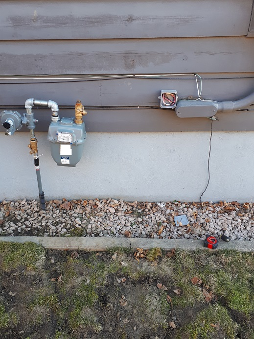 Gas Service Residential Clearance Electrician Talk