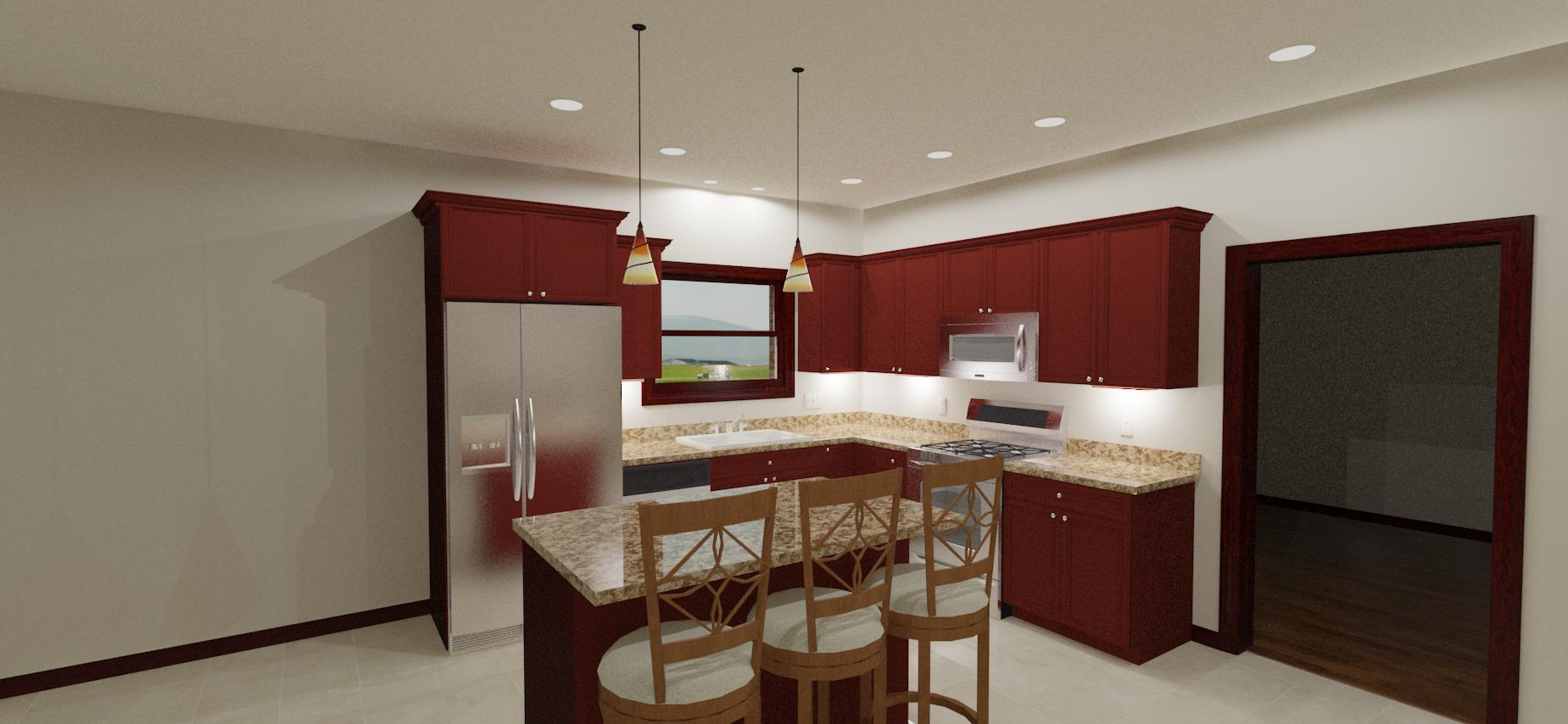 New Kitchen Recessed Lighting Layout - Electrician Talk ... on kitchen recessed lighting layout guide, kitchen recessed lighting placement, 10 x 10 kitchen layout, kitchen lighting can light placement, kitchen lighting ideas, kitchen island lighting, kitchen can lighting layout,