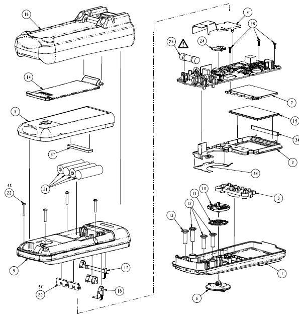 fluke meter repair - electrician talk