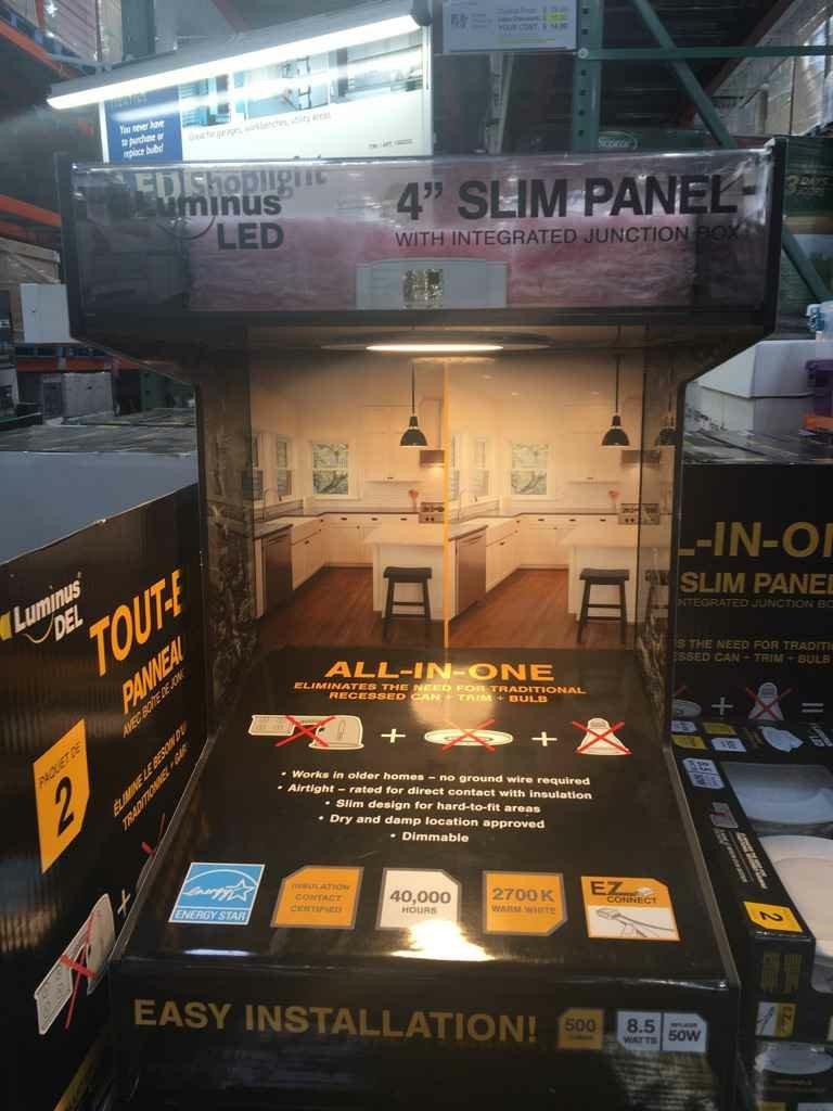 Luminus 4 Quot Led Panel Lights Electrician Talk