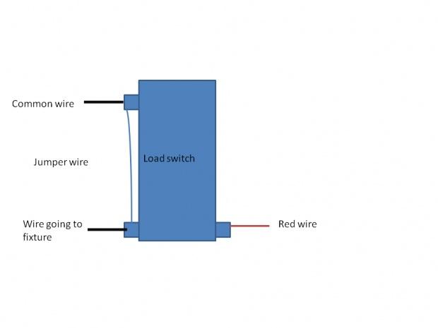 purpose of jumper wire w 3 way light timer electrician talk rh electriciantalk com 3-Way Rocker Switch Diagram Leviton 3-Way Switch Installation