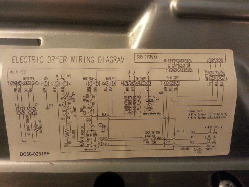 Bonded Dryer Electrician Talk, Samsung Dryer Wiring Diagram