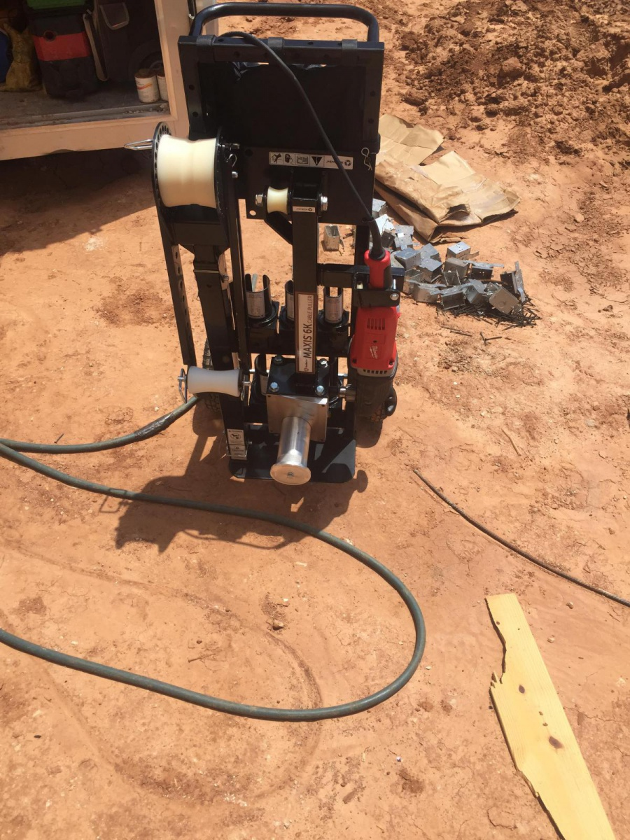 For Sale Maxis 6k wire puller $5,000 - Electrician Talk ...