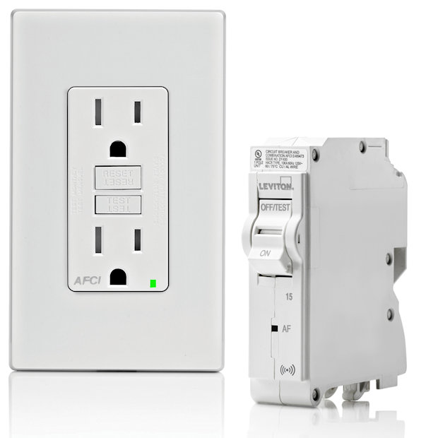 AFCI Breaker Outlet