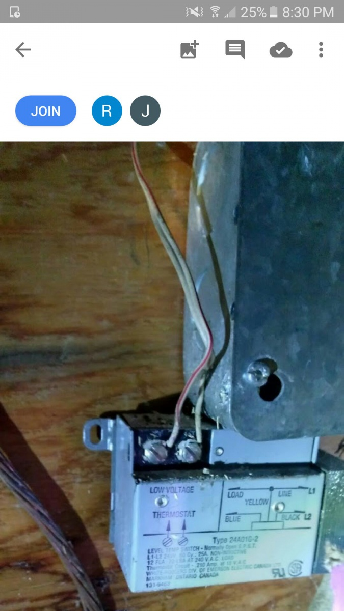 Electric Heat Relay suggestions on replacement Electrician