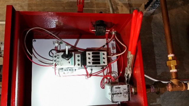 jockey pump contactor failure electrician talk professional rh electriciantalk com jockey pump wiring requirements jockey pump wiring requirements