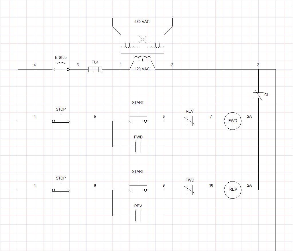 Dual Forward Reverse Electrical Interlock