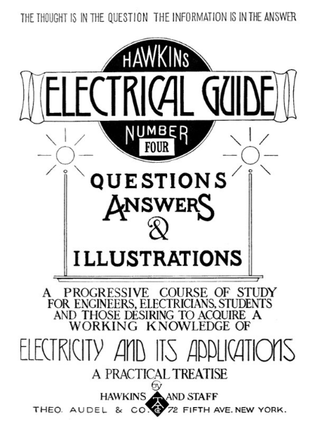 hawkins electrical guide - electrician talk