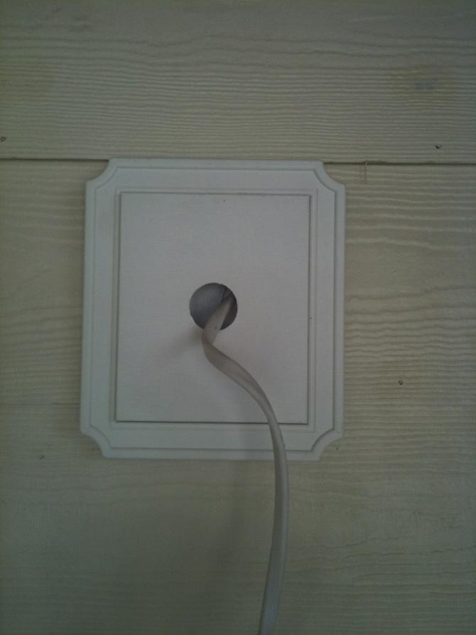 Vinyl Siding Blocks For Exterior Lights Electrician Talk