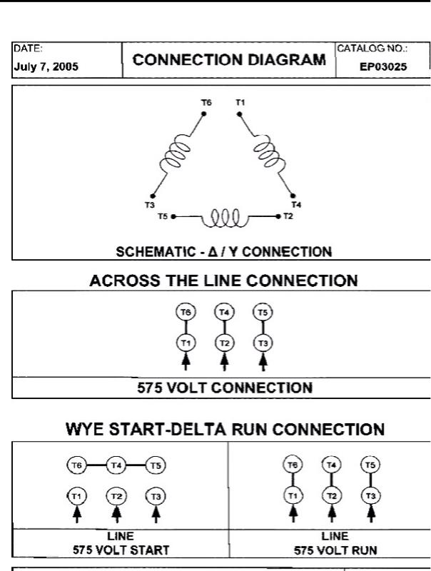 Wye Delta Wiring Diagram 12 Lead Delta Motor Wiring Diagram 12 Lead