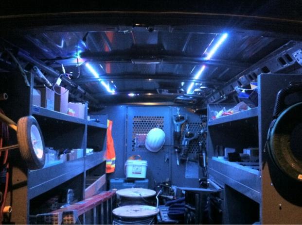 Van Interior Lighting Electrician Talk Professional