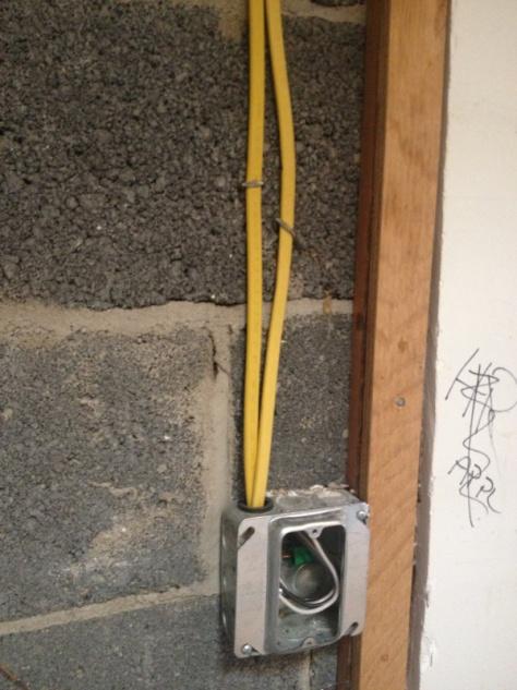 wiring through cinder block example electrical wiring diagram u2022 rh cranejapan co Types of Cinder Blocks Cinder Block Sizes