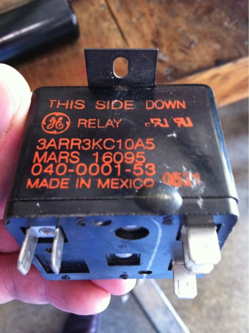 Start relay bad Electrician Talk Professional Electrical