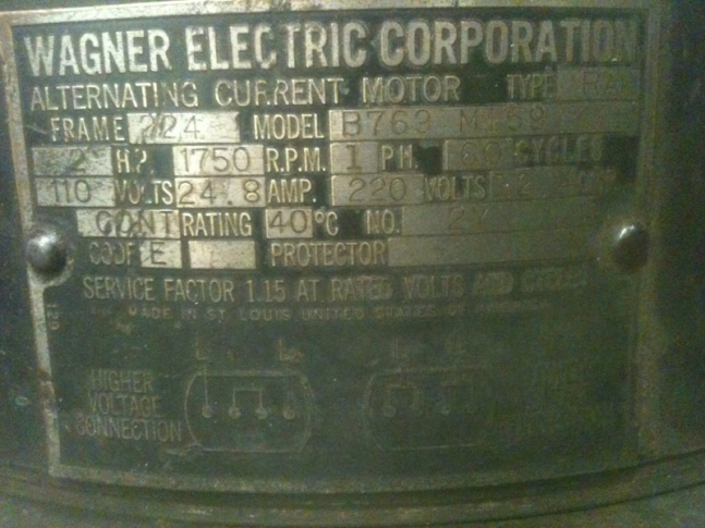 Old 1 Ph motor - Electrician Talk - Professional Electrical ... Old Westinghouse Motor Wiring Diagram on