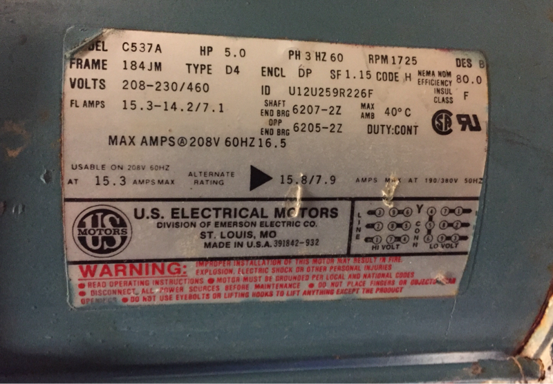 Wiring Motors  High Or Low Voltage   - Electrician Talk