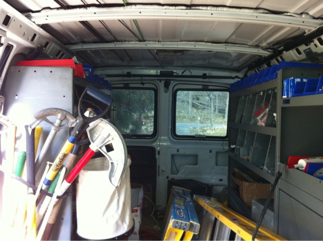 Post Pic S Of The Interior Of Your Van Electrician Talk