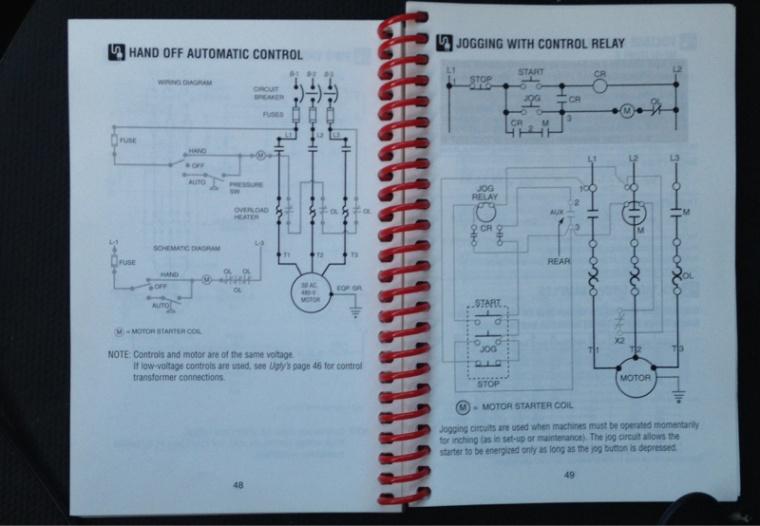 magnetic starter/ex. fan/damper/gen/bas - Electrician Talk ...
