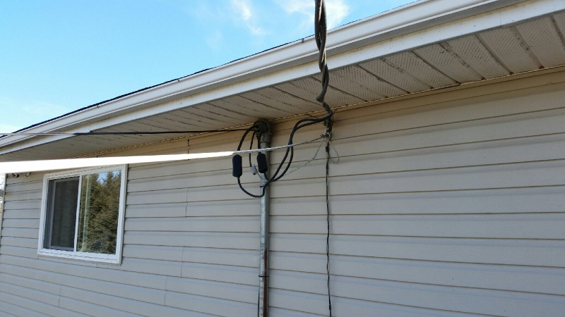 Service mast change out - Electrician Talk - Professional Electrical ...