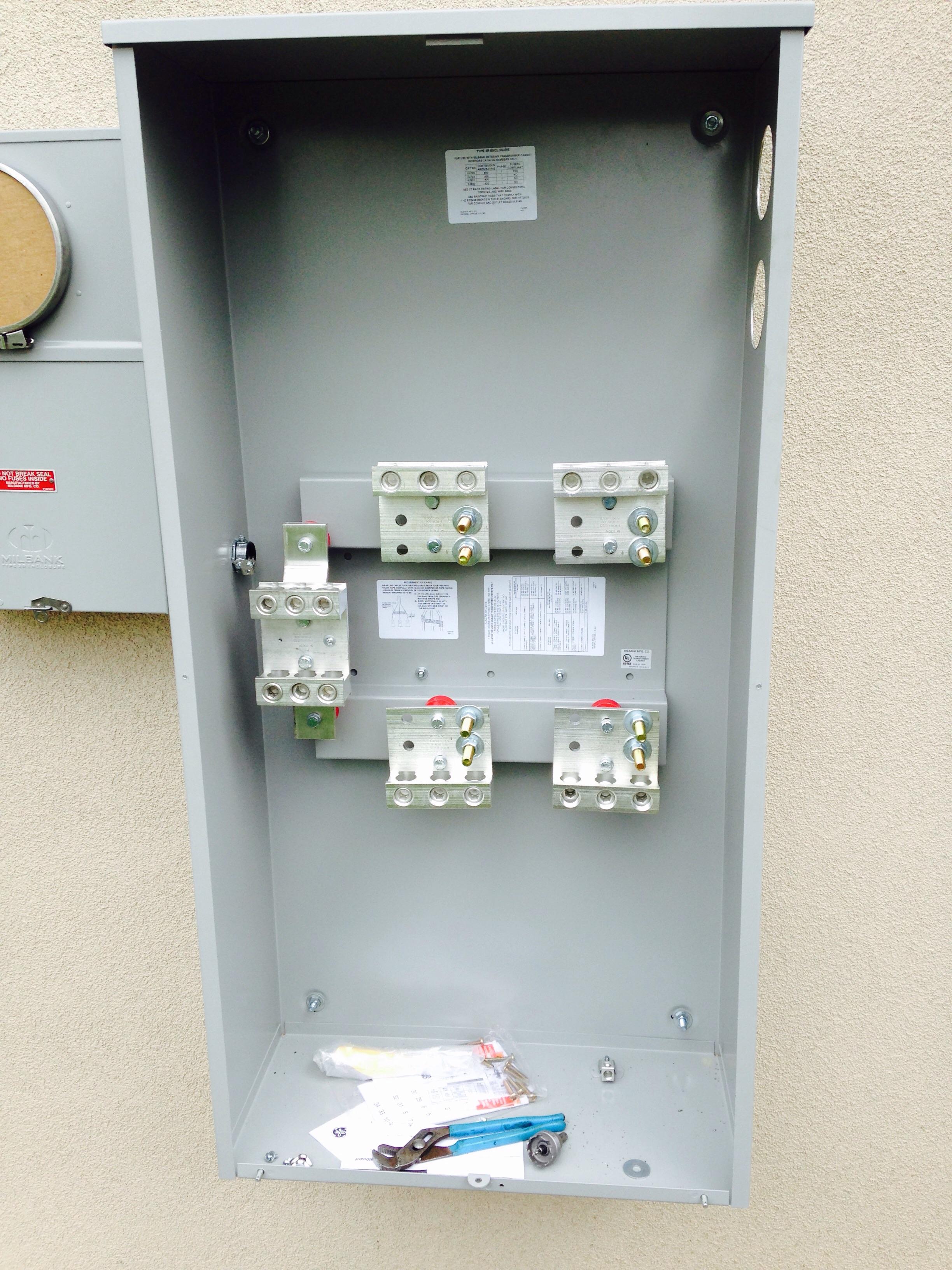 Bonding Grounding For 400 Amp Ct Electrician Talk