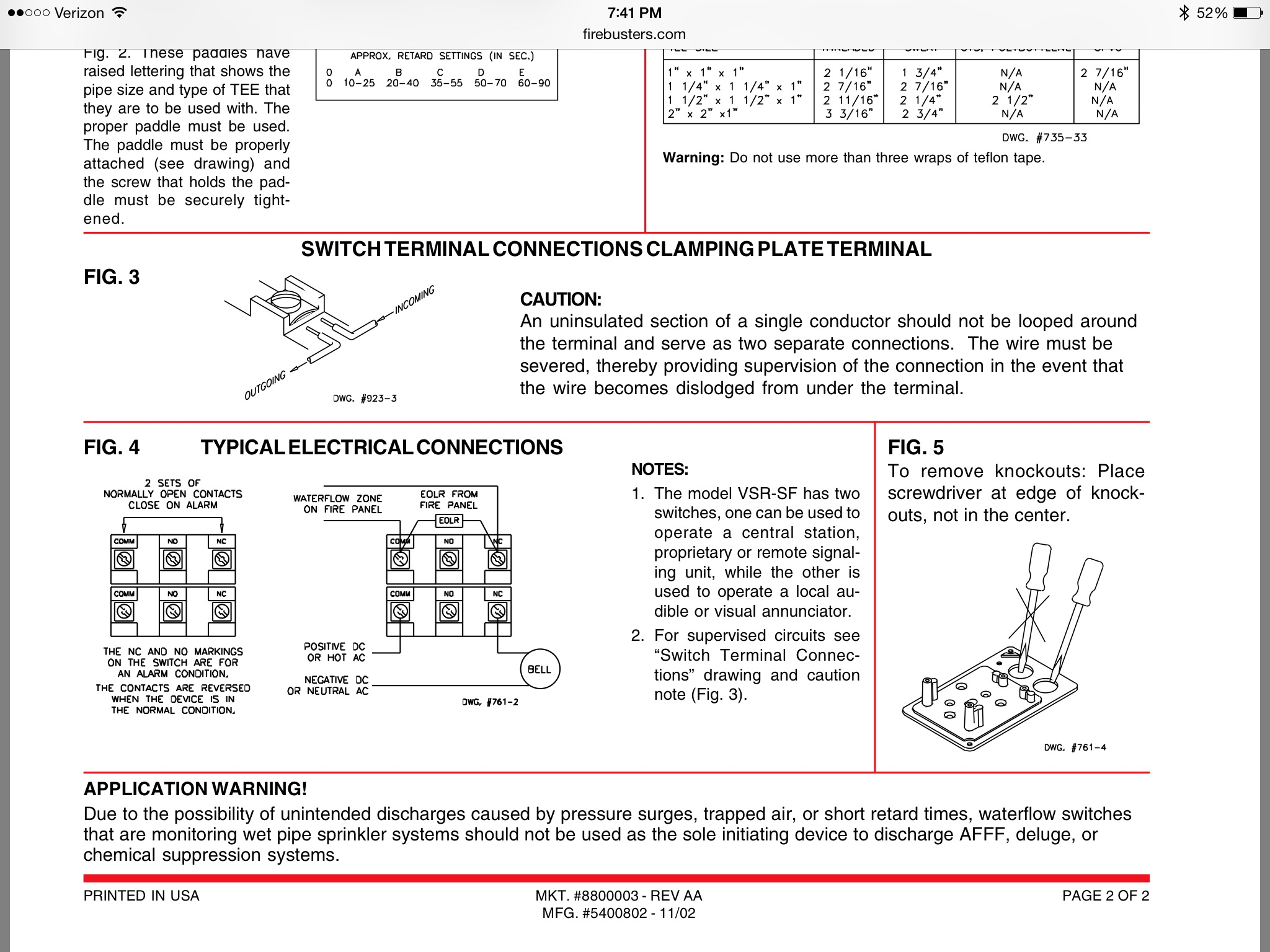 Flow Switch And Bell Wiring Electrician Talk Professional Hood Fire  Suppression Wiring-Diagram Flow Switch Wiring Diagram
