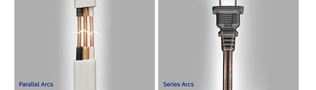 series arcs and parallel arcs