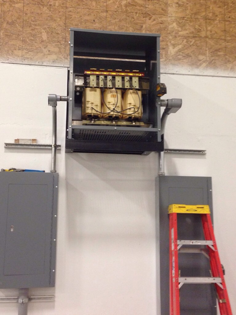 Suspended Transformers Electrician Talk Professional