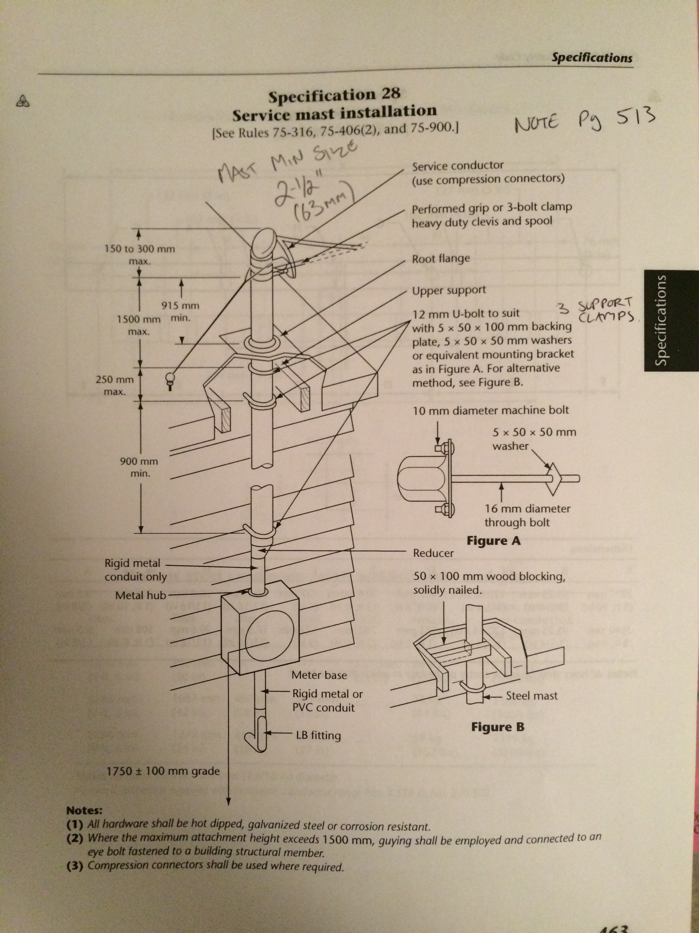 Temporary Electrical Service Entrance Diagram Trusted Wiring Diagrams Overhead Mast Bc Complete U2022 Logan Co Pole