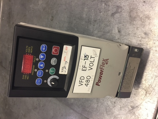 Allen Bradley PowerFlex4 VFD - Electrician Talk - Professional
