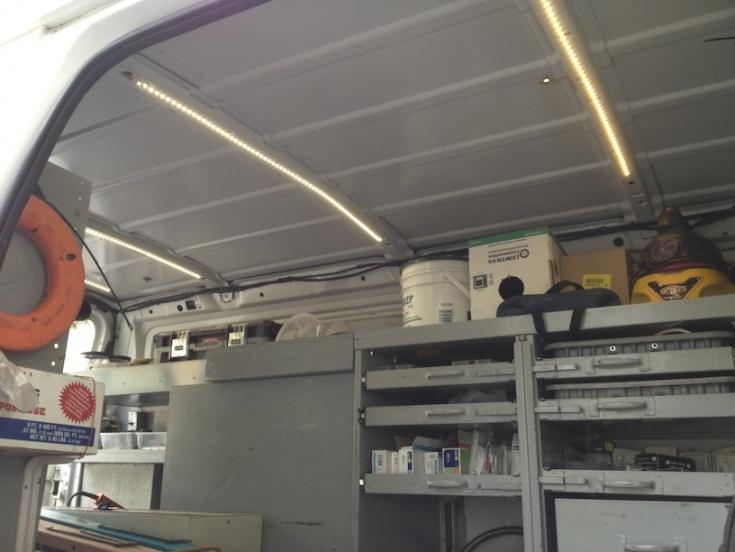 Cargo Van Lighting Electrician Talk Professional