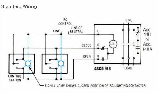 asco 918 lighting contactor wiring diagram wiring diagrams