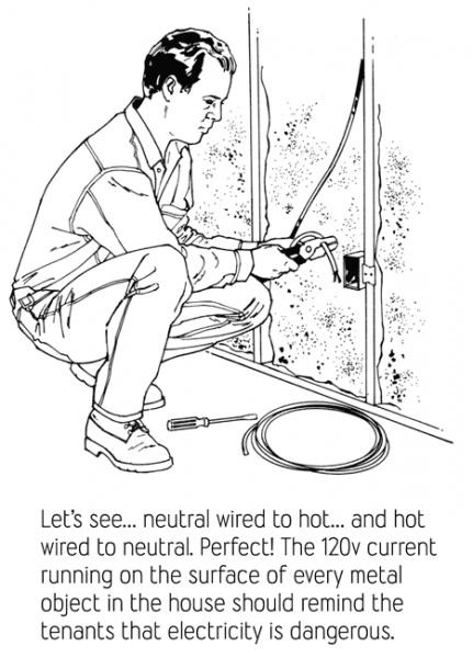 funny picture - electrician talk