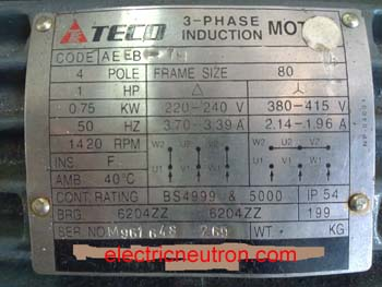D Motor Wiring Diagram Nameplate Voltage on 9 Lead Motor Wiring Diagram