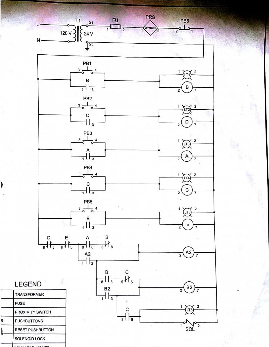 Ladder Wiring Diagrams Library Ac Unit Diagram Relay A Amp A2 Drop Out When B Picks Up