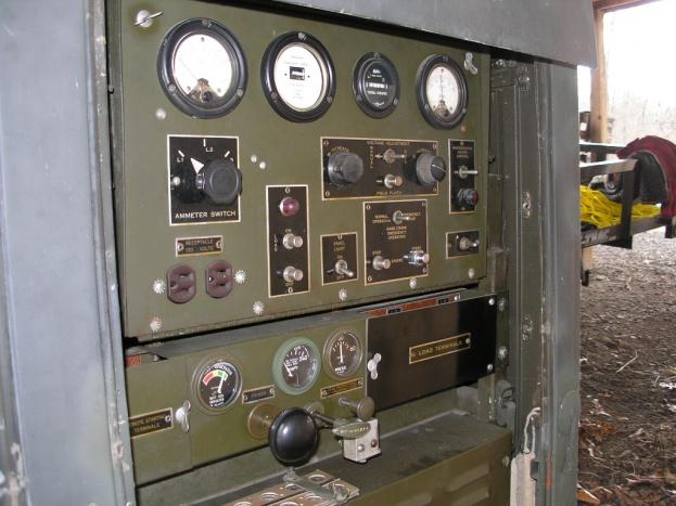 Old school military generator - Electrician Talk - Professional