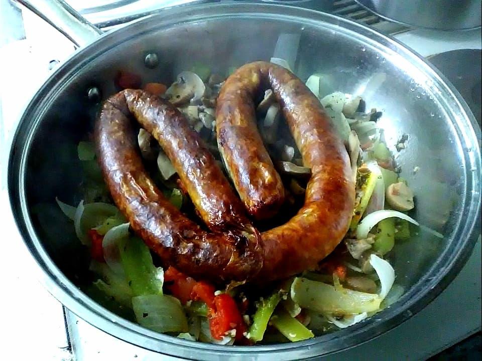 Home made foods-sausage-9-apr.jpg
