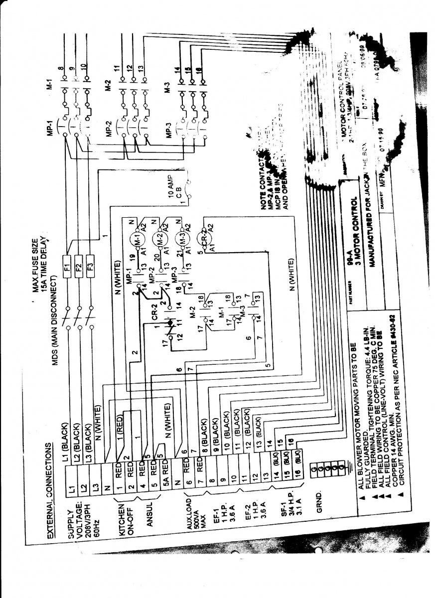 ansul shut down wiring diagram ansul hood system schematic electrician talk professional  ansul hood system schematic