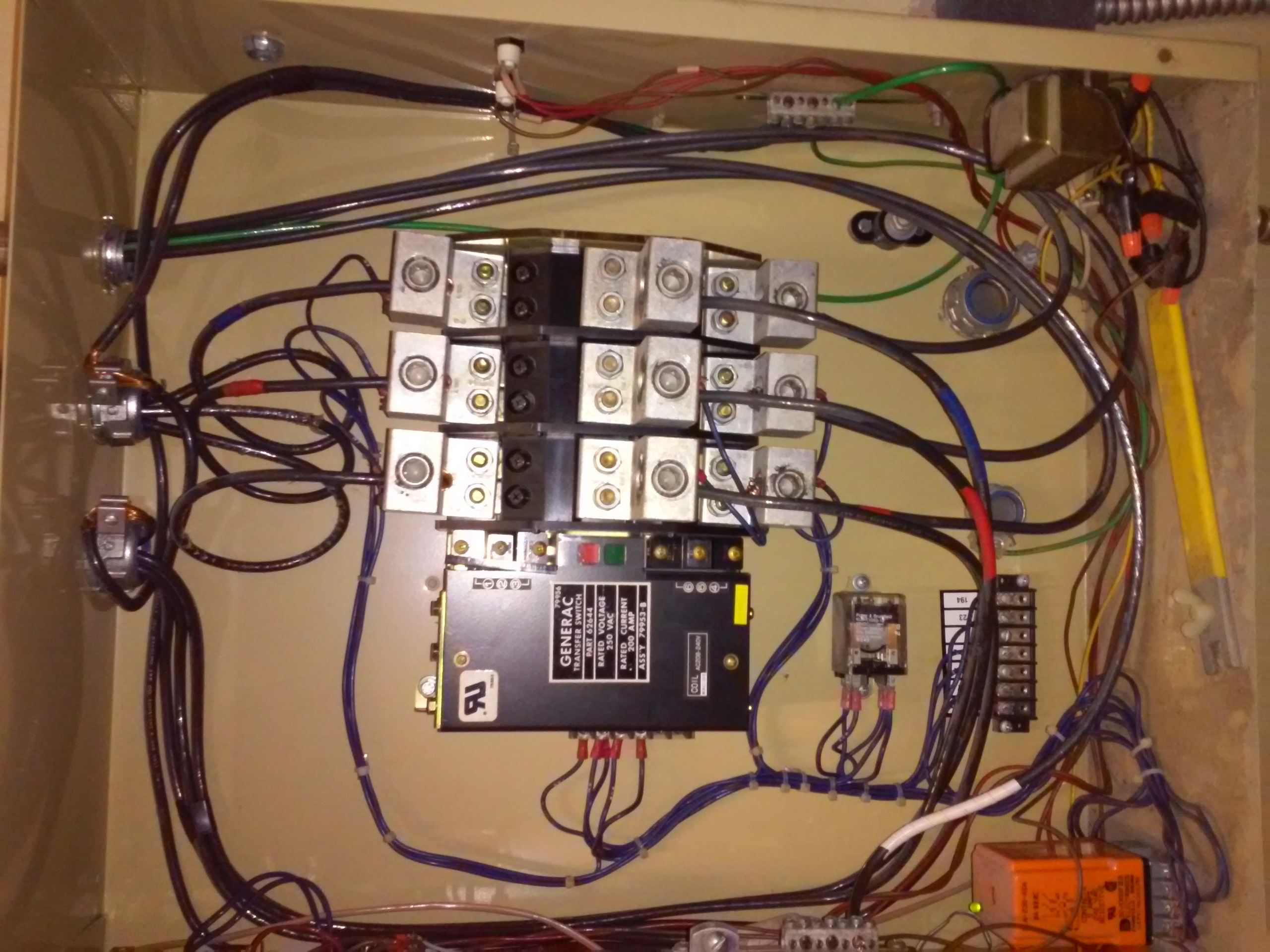 Generac Ats Wiring Diagram Two Wire Start Schematic Manual For Transfer Switch Electrician Talk Professional Generator