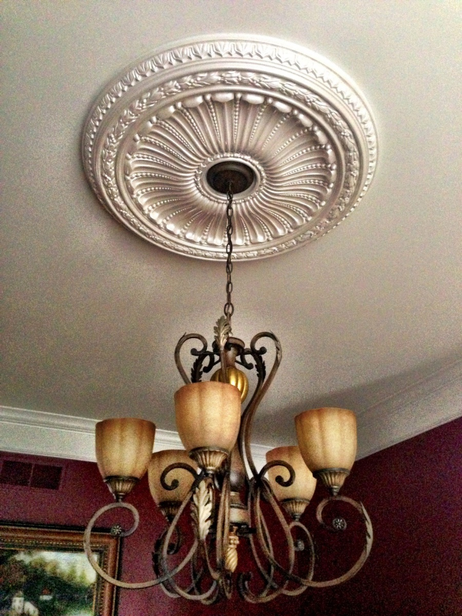 Who should install ceiling medallions electrician talk who should install ceiling medallions viceroy ceiling medallion 01g arubaitofo Images