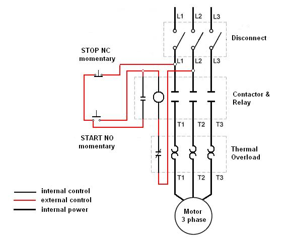 single phase motor    3 phase starter - electrician talk
