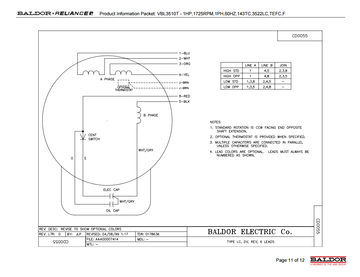 Reversing 6 Lead Single Phase Dual Voltage Motor With Forward And Reversing Starter Electrician Talk